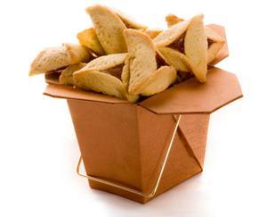 Purim basket of hamantashen